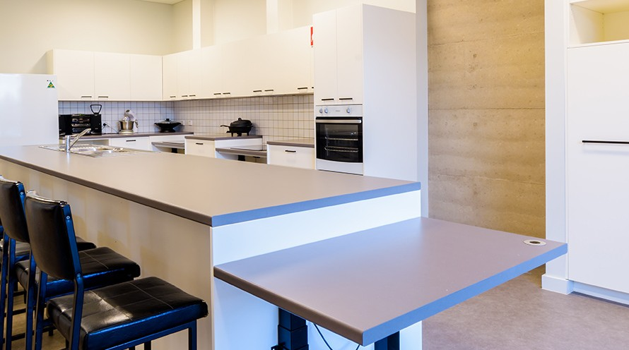 Banner photo of the training kitchen